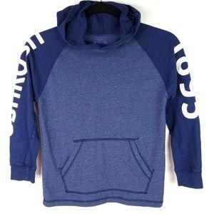Oshkosh Long Sleeve Hooded Tee Shirt Top Text 8